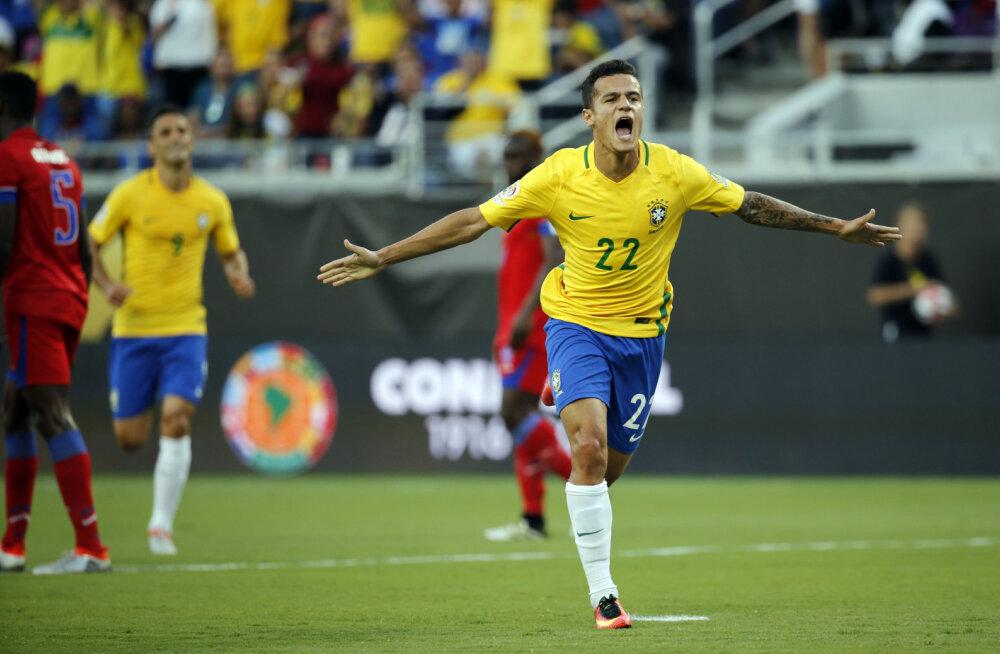 """VIDEO: Brasiilia tegi Copa Americal """"Saksamaad"""""""