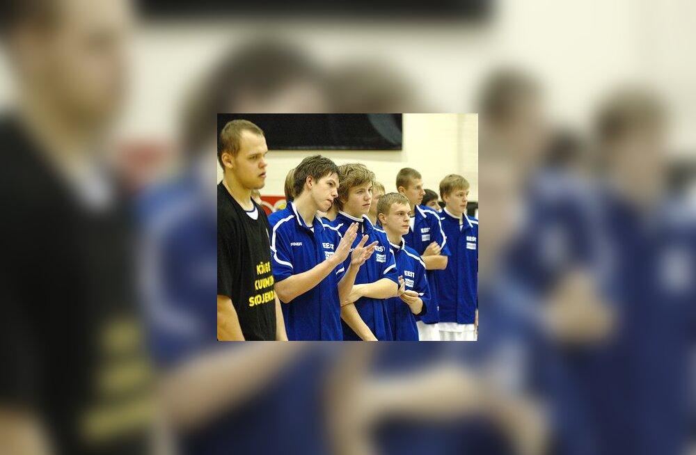 Eesti U-18 koondislased