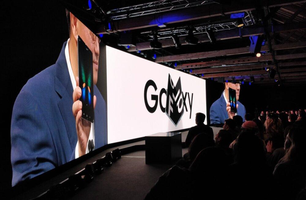 FORTE LONDONIS | Üllatus: krõbeda hinnaga Samsungi volditav telefon tuleb müügile juba maikuus
