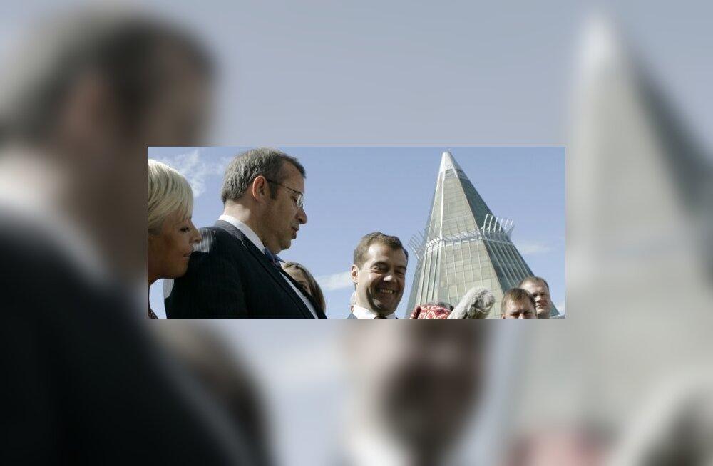 Medvedev ja Ilves, käige loomaaias ära