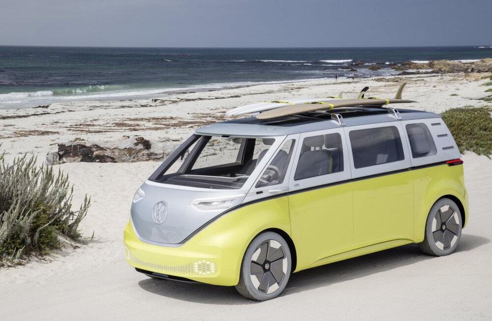 Volkswagen toob uue Tallinna müügi- ja teeninduskeskuse avamise puhul Tallinnasse elektrilise tulevikuauto ID.Buzz