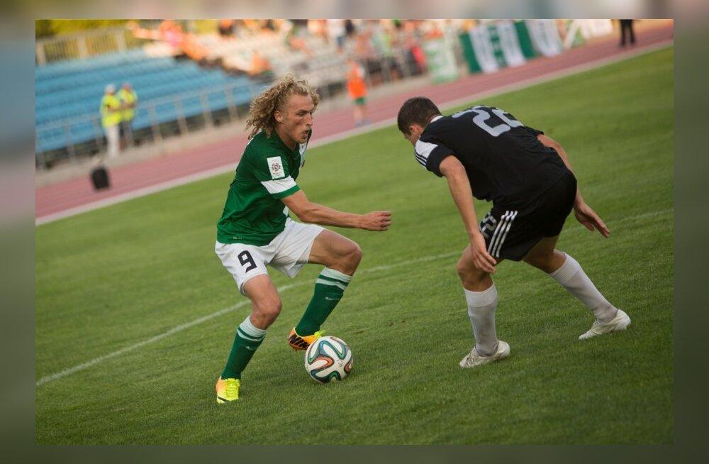 FC Flora vs FC Levadia, Rauno Alliku