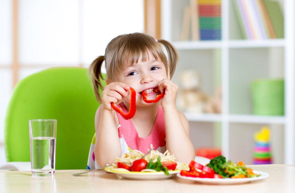 Õpeta oma laps tervislikult toituma