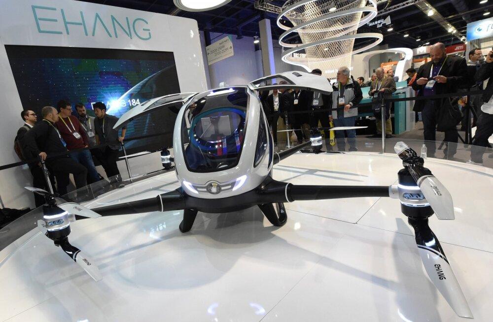 Reisijadrooni tootja loodab kahe aasta jooksul kasumisse jõuda