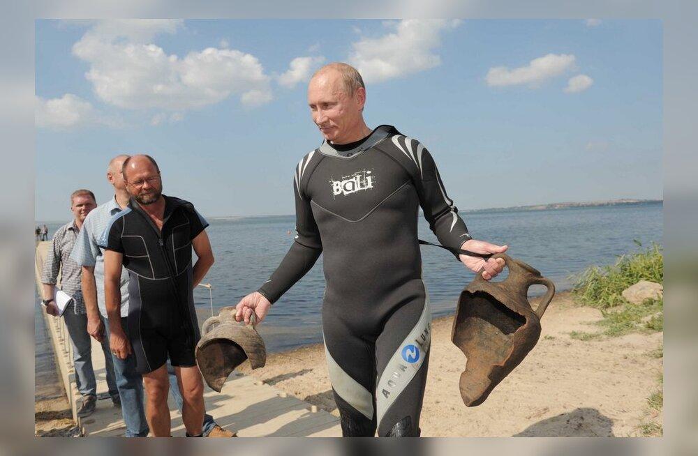 Накануне дня рождения социологи заверили Путина, что он самый популярный из всех лидеров мира