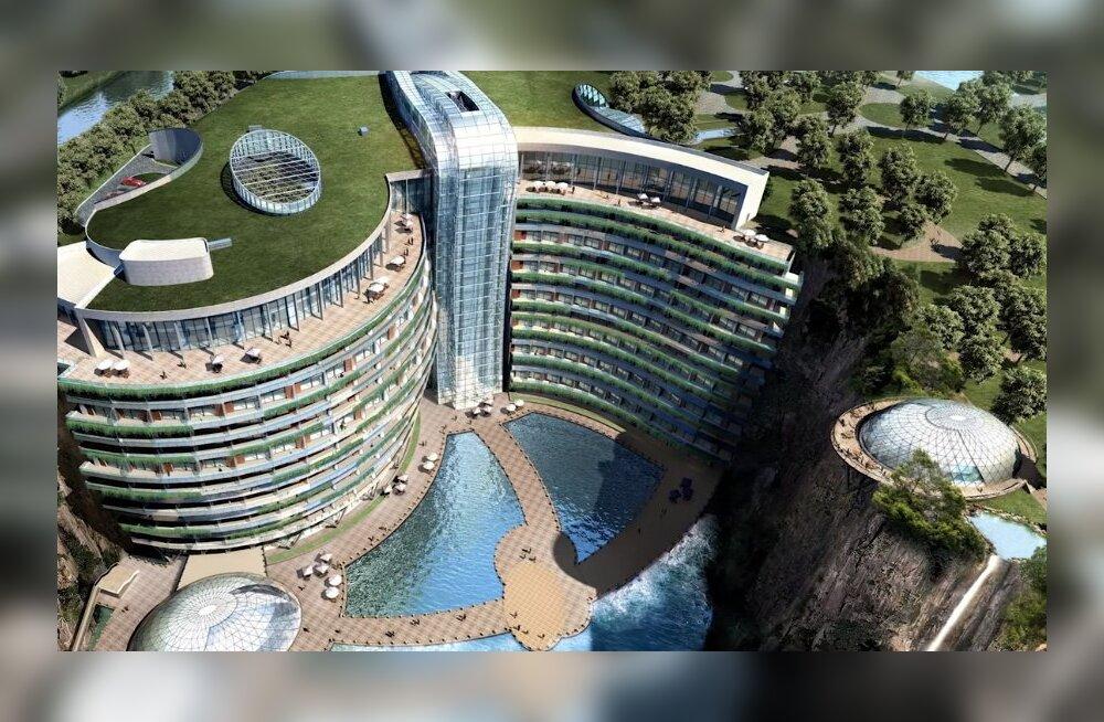 ФОТО. В Шанхае открылся первый в мире подземный отель