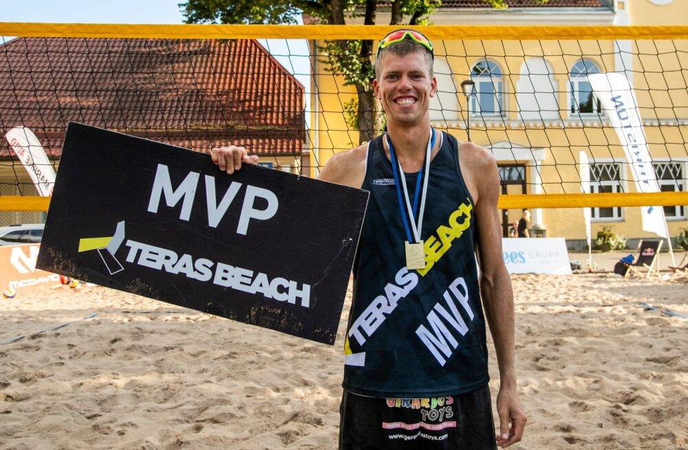 Mart Tiisaar valiti Eesti meistrivõistluste kõige väärtuslikumaks mängijaks.