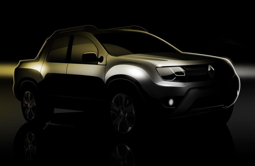 Dacia näitab Buenos Airese autonäitusel kastiautot Duster