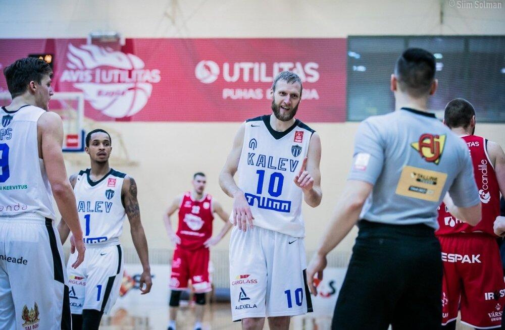 Tallinna Kalev/TLÜ liigub play-off'i kursil
