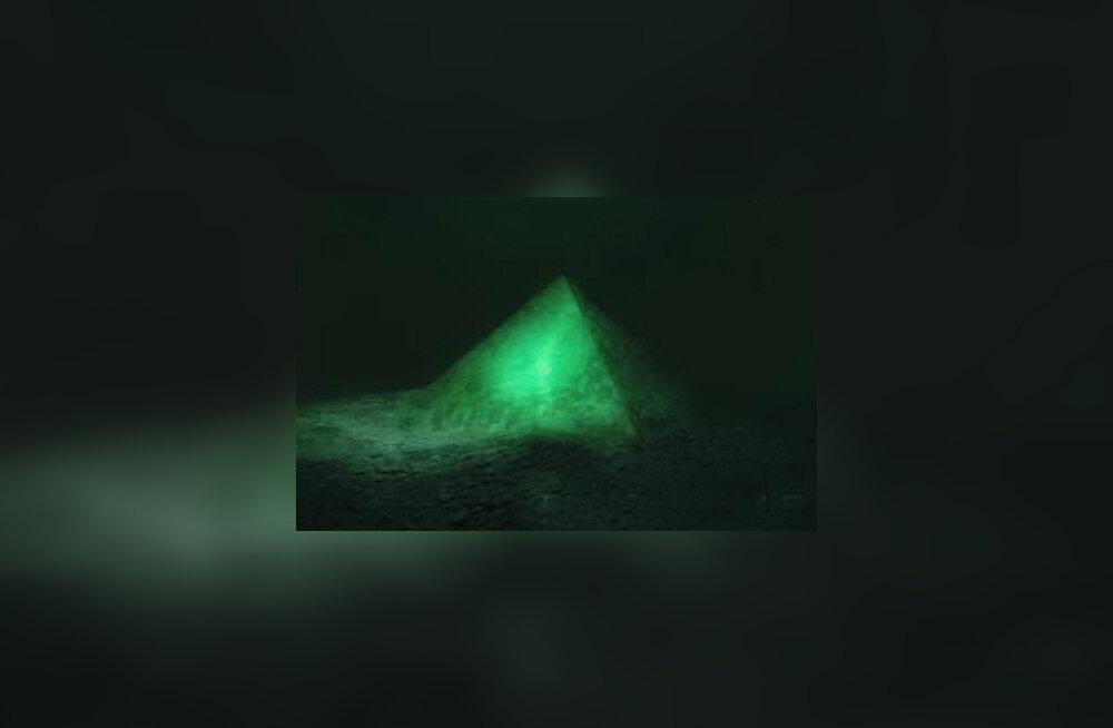 Bermuda kolmnurgas avastati hiigelsuur kristallpüramiid