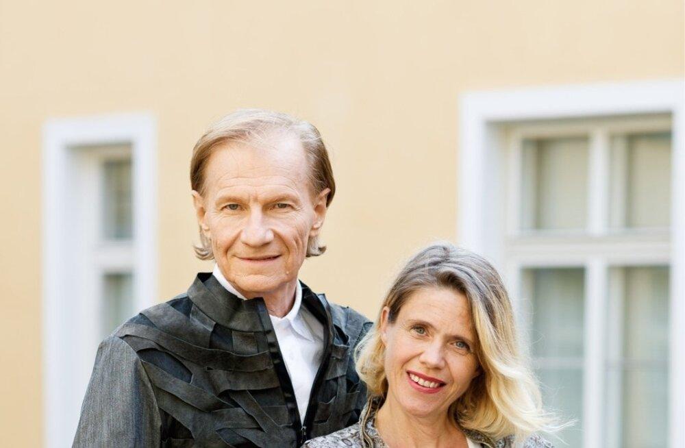 Ilmar Taska ja Hille Karm