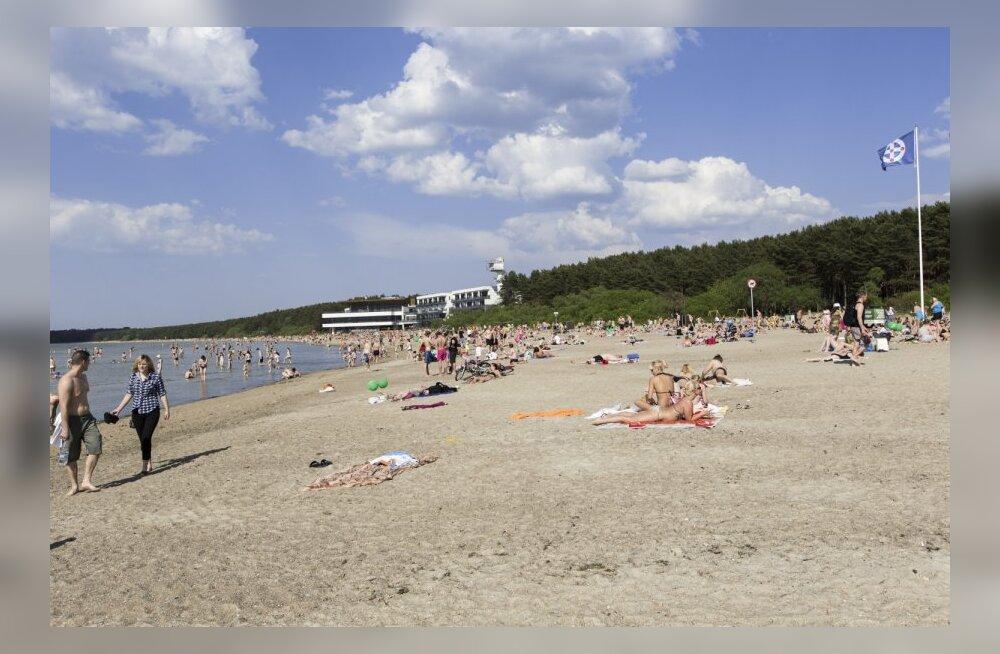 Пляжный сезон открыт