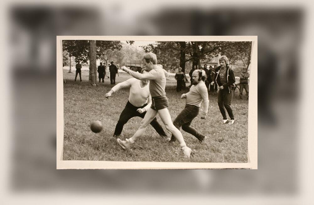 RAMi ja Eduard Vilde nim kolhoosi vaheline jalgpallivõistlus