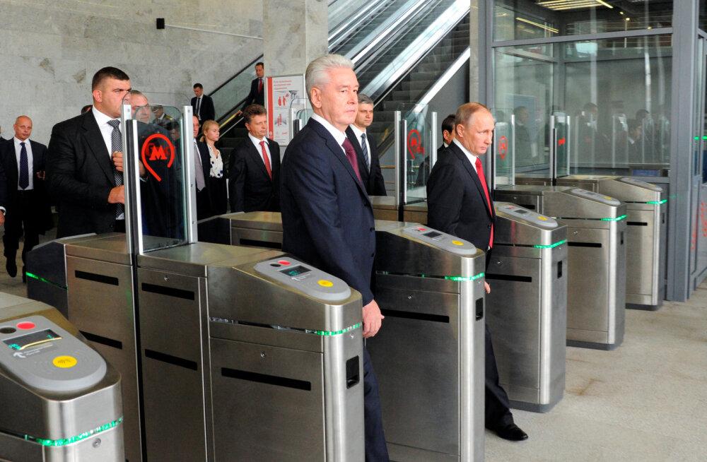 Putin käivitas Moskvas raudtee miljardiprojekti