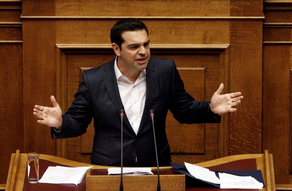 Kreeka parlament kiitis heaks järjekordsed kärpemeetmed