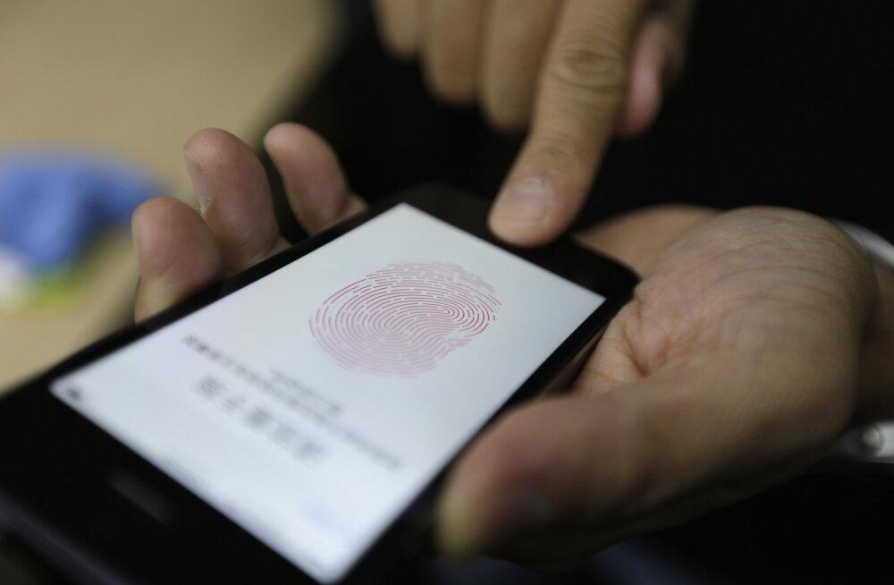 Apple'i tippjuht: Touch-ID ei kao kuhugi
