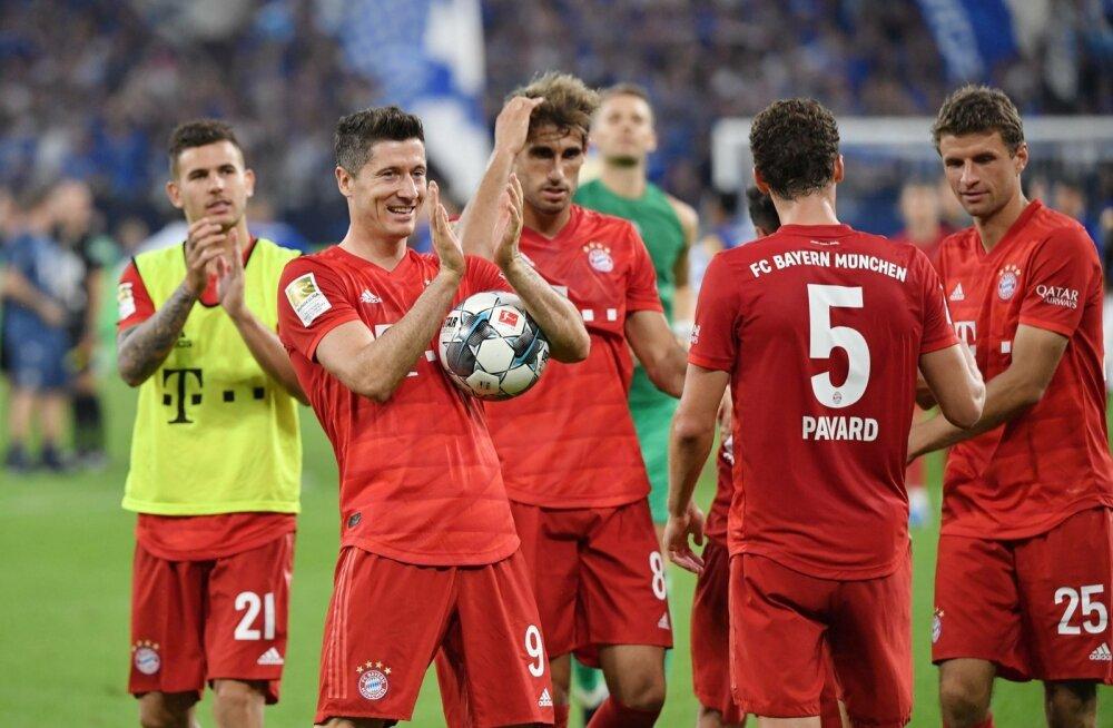 Müncheni Bayern sai mängumasina tööle.