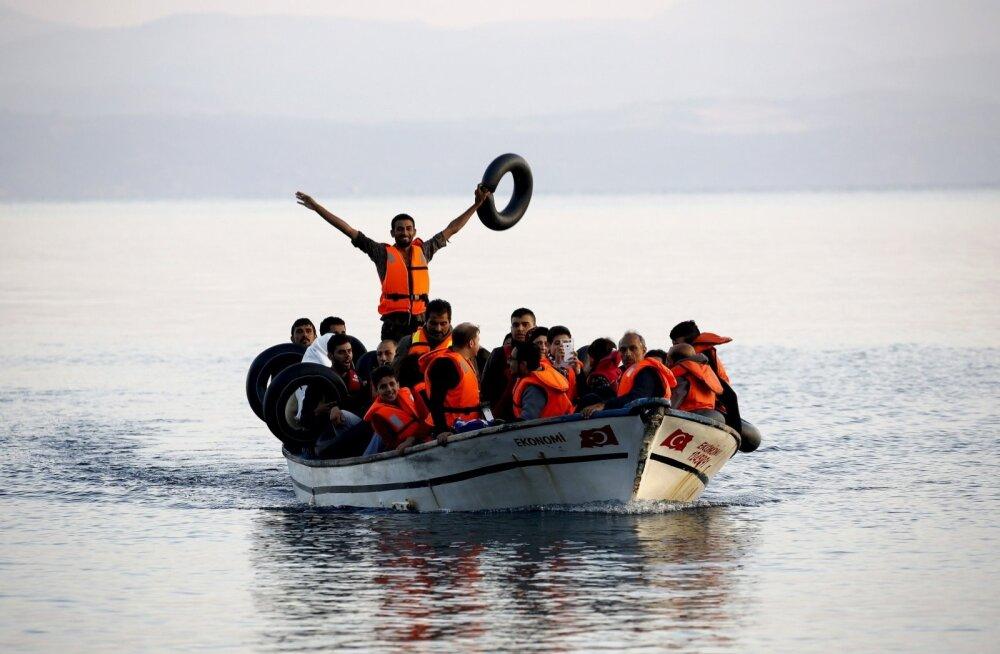 Süüria põgenikud saabuvad Kreekasse