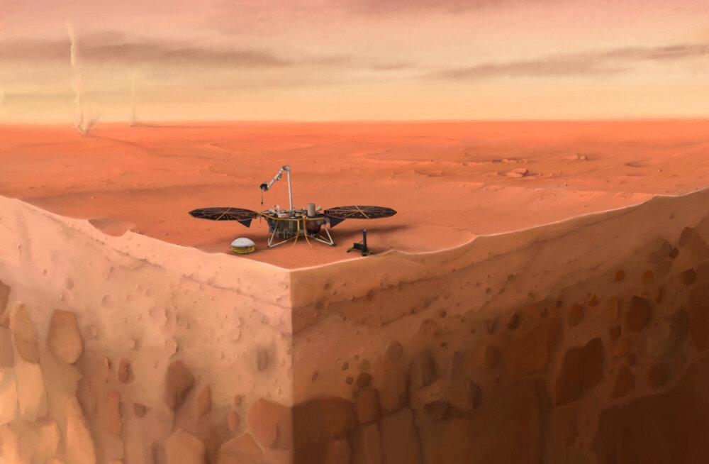 NASA missioon Marsile paljastas punase planeedi kohta nii mõndagi uut