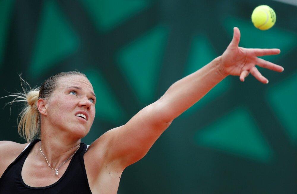 Kaia Kanepi ei suutnud Daria Kasatkinat võita.