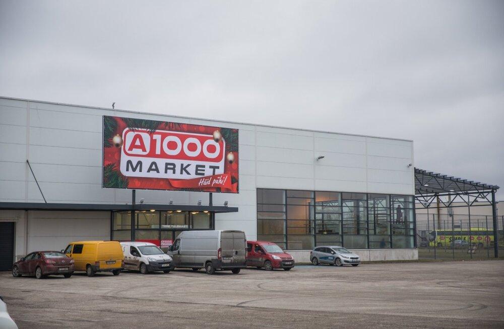 Alko1000 kaupluse avamine Võrus 2017. aasta talvel.