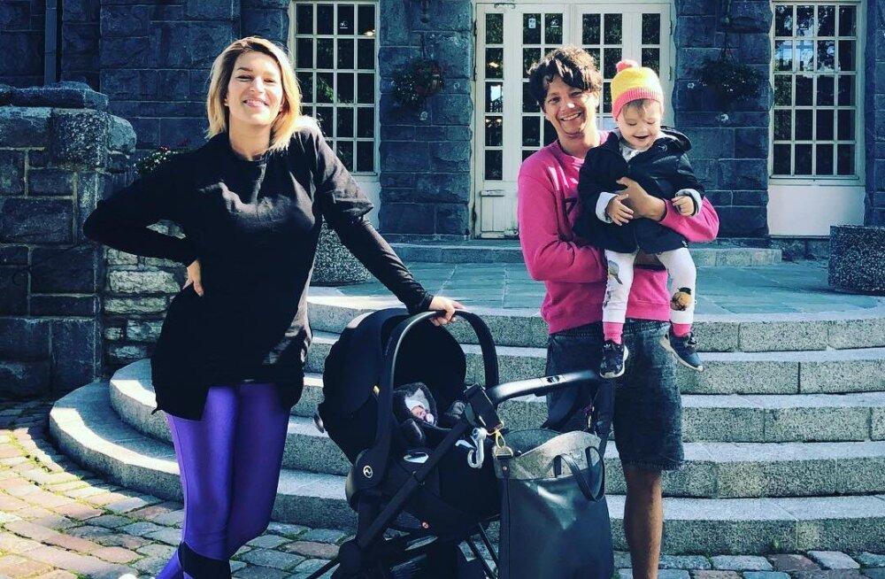 ARMAS KLÕPS | Stig ja Karina Rästa panid oma teisele tütrele väga unikaalse nime