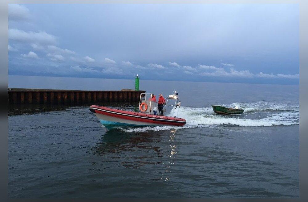 Läti kaluripaat triivis Kolka neemelt Ruhnu saarele