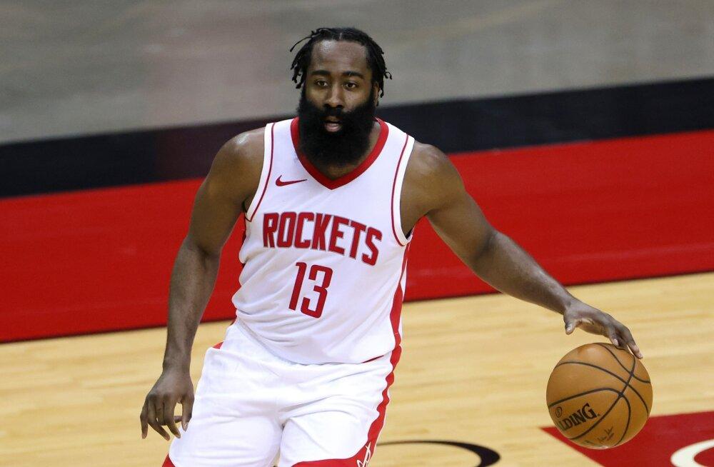 Hiigeltehing NBA-s: James Harden hakkab mängima Kevin Duranti ja Kyrie Irvinguga