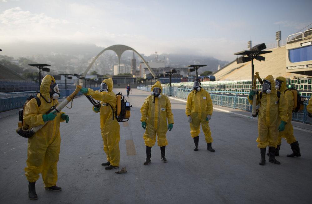 Ühelgi olümpiasportlasel pole veel Zikat avastatud