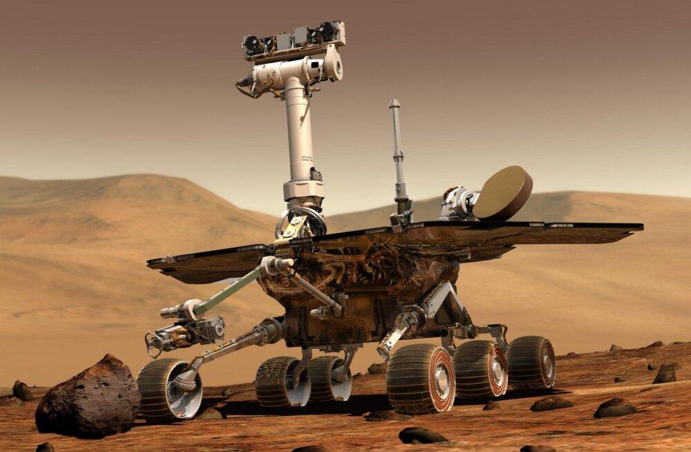 NASA ei anna Opportunity suhtes alla, kuid Marss ei halasta