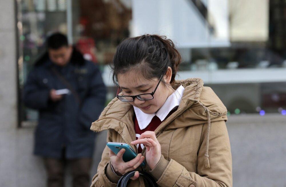 Hiinas kasutatakse nutiseadmeid viisil, mida meie isegi veel soovida ei oska