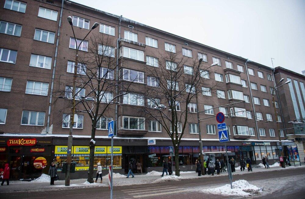 Jääpurikad Tallinnas