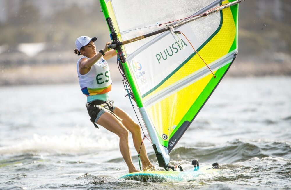 Ingrid Puusta olümpiaveel