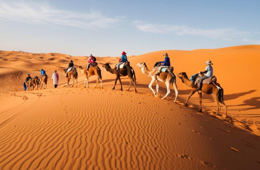 Sahara kõrb (Marokos)
