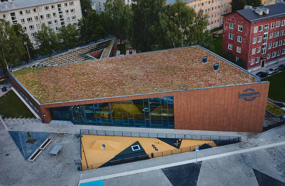 Mapri Ehitus rajas Tartusse liginullenergiahoonena murukatusega lasteaia Naerumaa