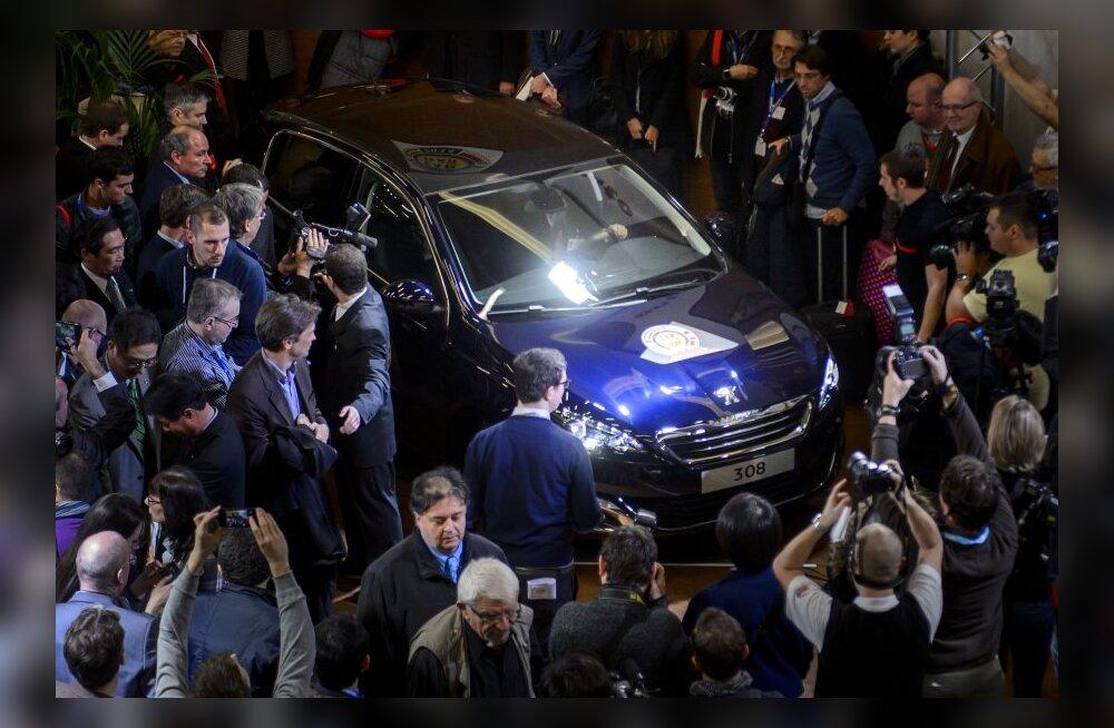 Peugeot 308 on Euroopa Aasta Auto 2014