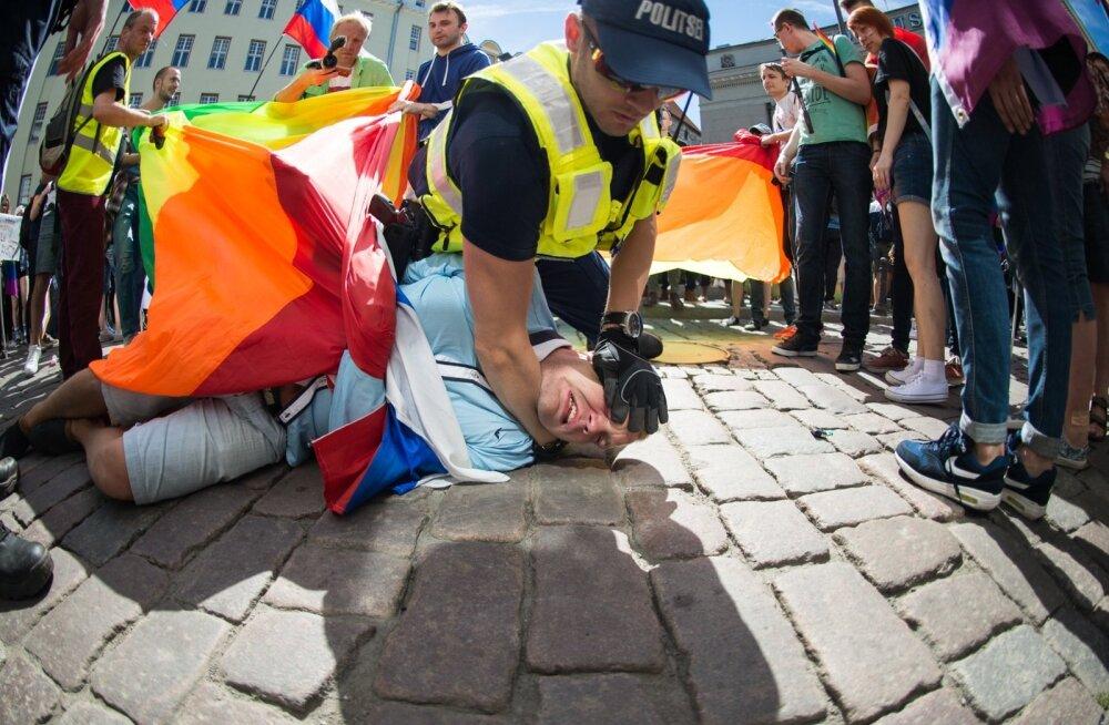 Pride ürituse ebameeldiv juhtum