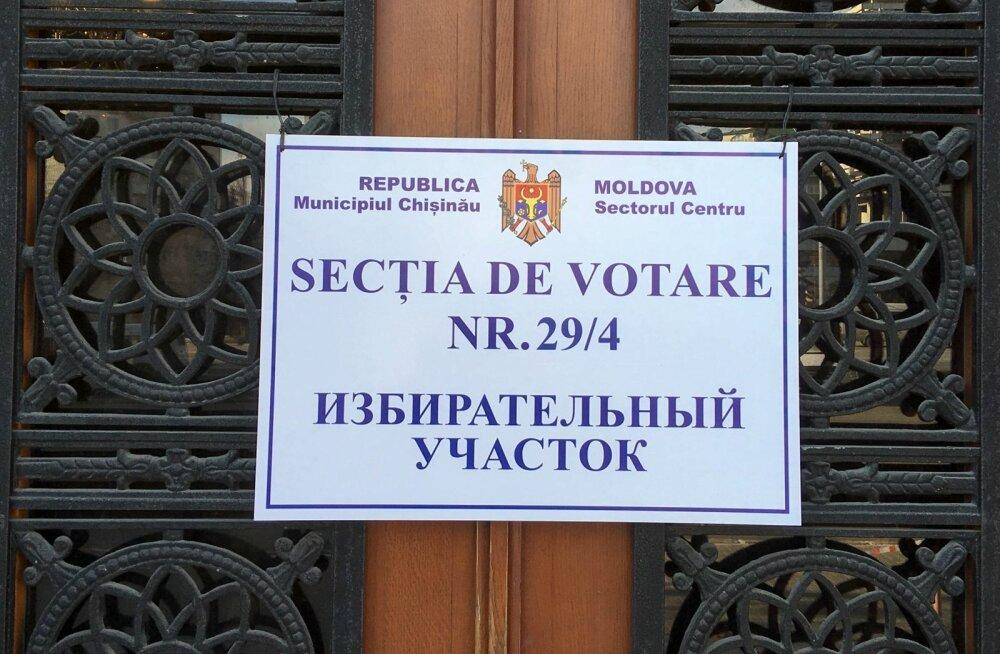 Moldova parlamendivalimistel ei suutnud ükski erakond enamust saavutada