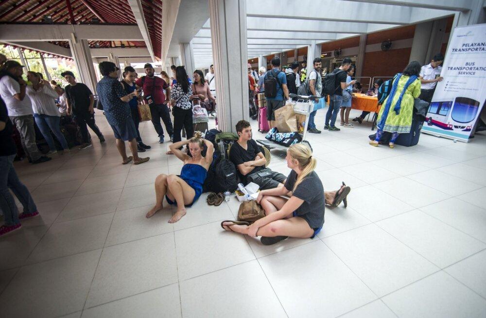 BALI UUDISED | Avati taas Denpasari lennujaam, aga pole teada, kui kauaks