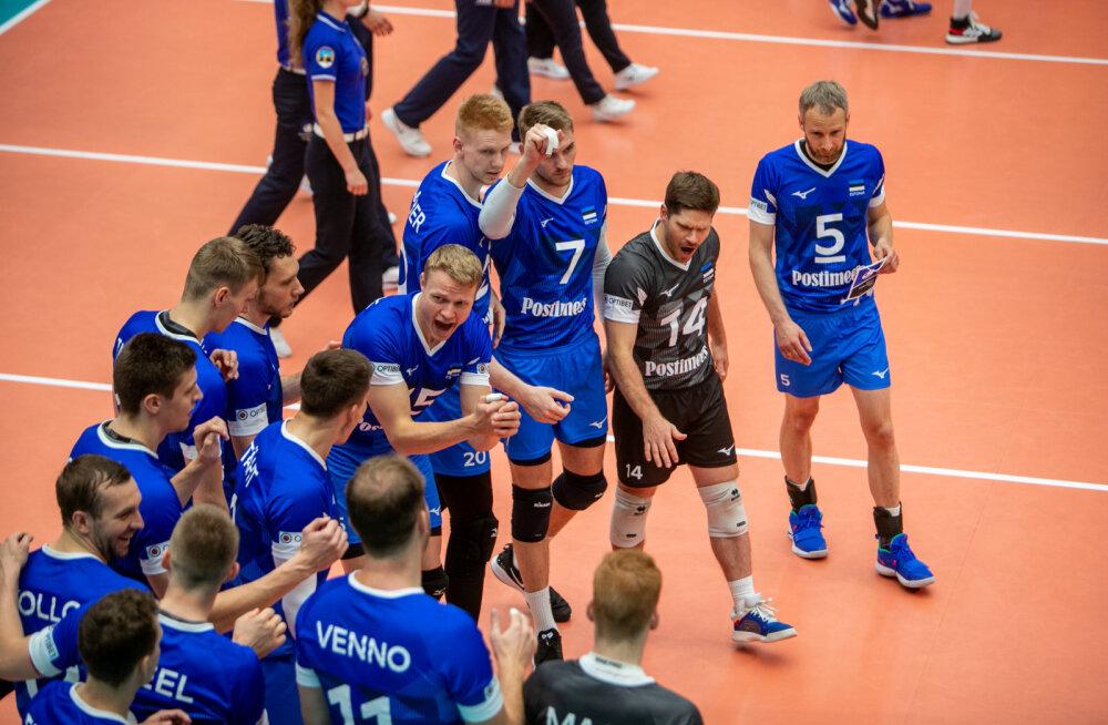 Ei vedanud: võrkpallikoondis sai Kuldliiga poolfinaaliks tugeva vastase