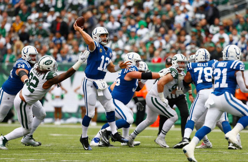 Hundita Colts kaotas taas, sest rünnak rikkus mängu
