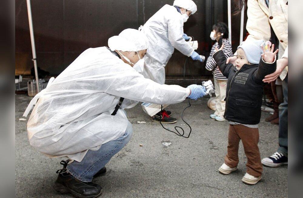 Radiatsiooni kontrollimine Jaapanis