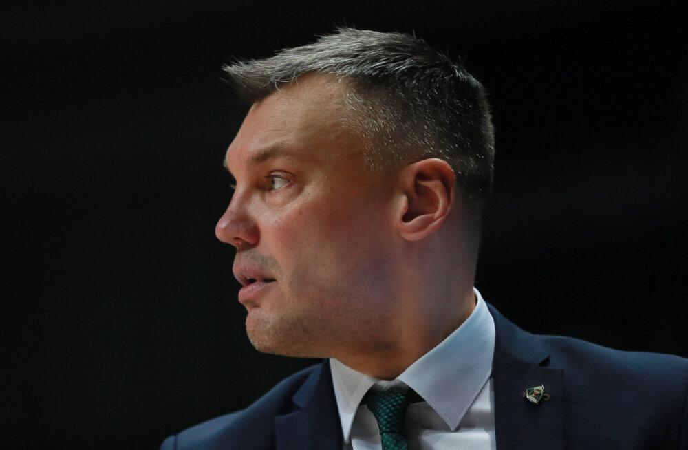 Šarunas Jasikevicius võimalikust üleminekust NBA klubisse: ma ei oska öelda, kas läbirääkimised lähevad tõsisemaks