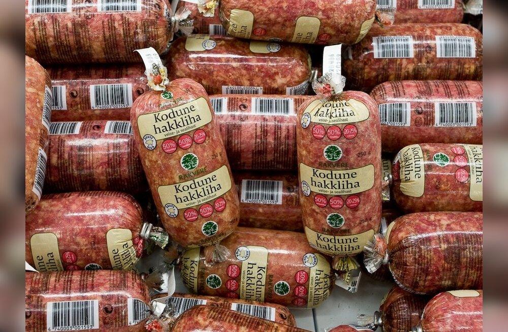 Hind paneb paika: liha tarbimine väheneb