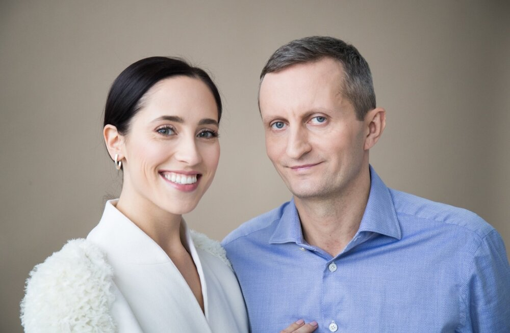 Elina Nechayeva ja David Pärnamets