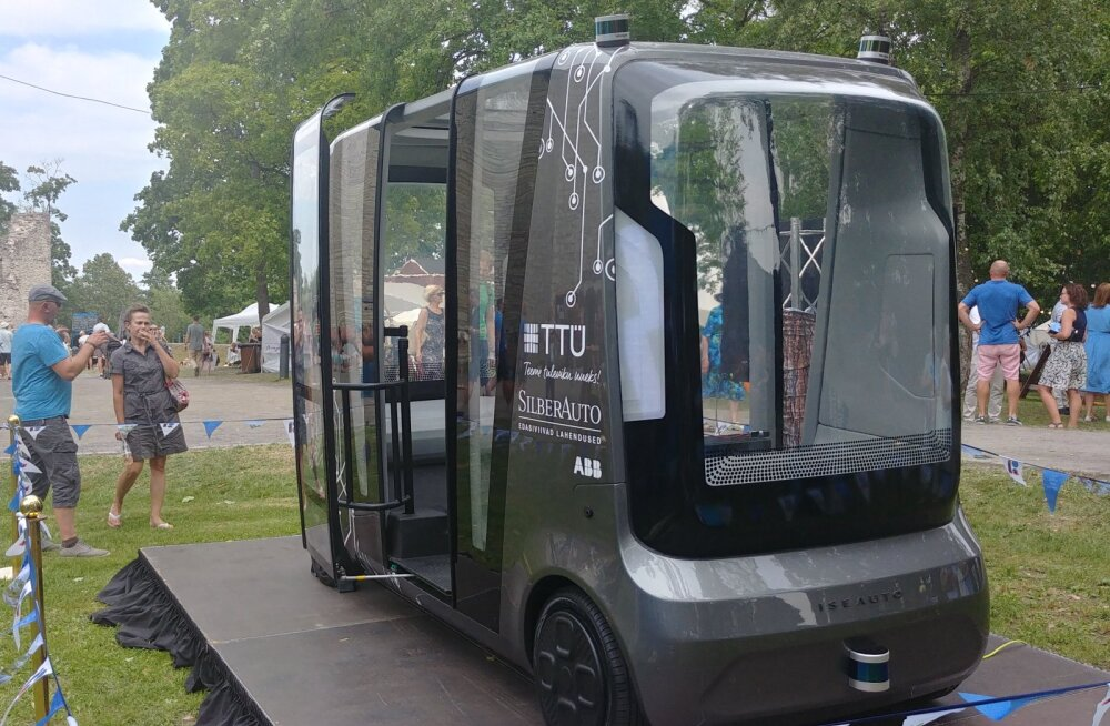 Eesti esimene isejuhtiv sõiduk Iseauto teeb täna oma esimese ametliku sõidu