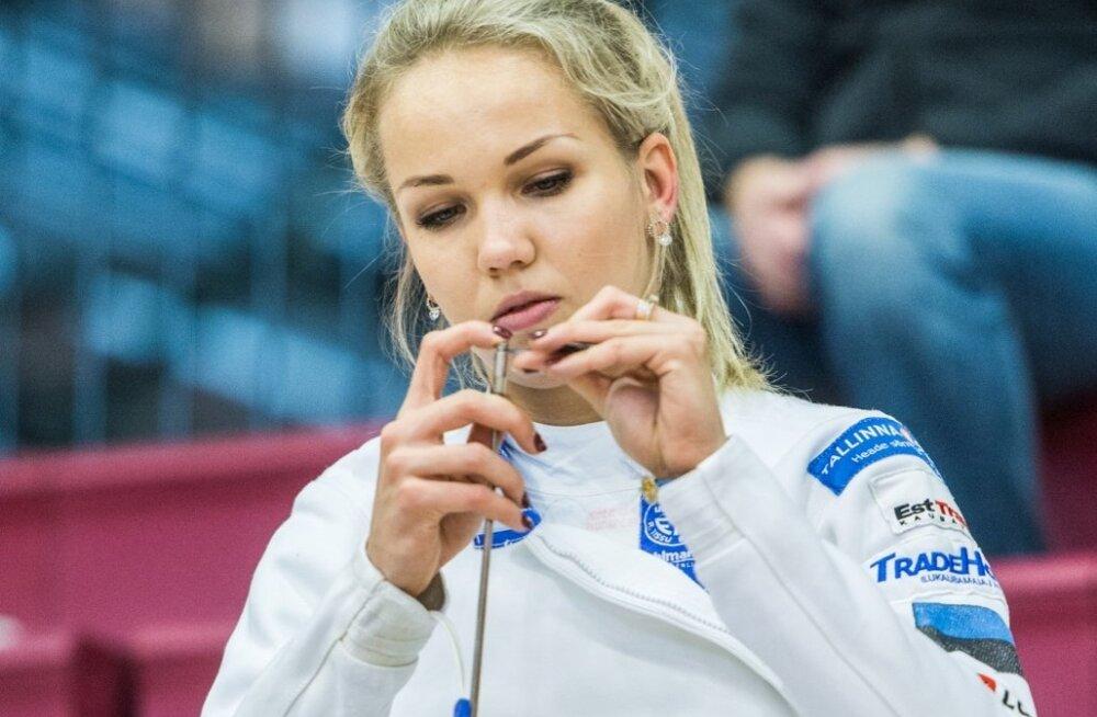Eesti vehklemise karikavõistlused, naised