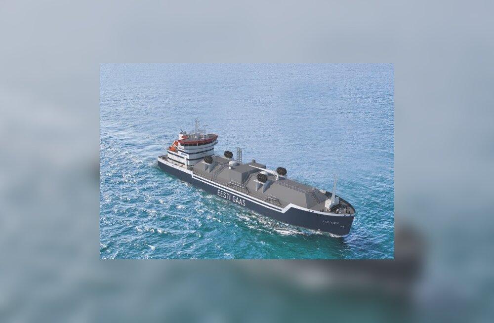 FOTOD | Tallinki suuromanik tellib LNG punkerlaeva