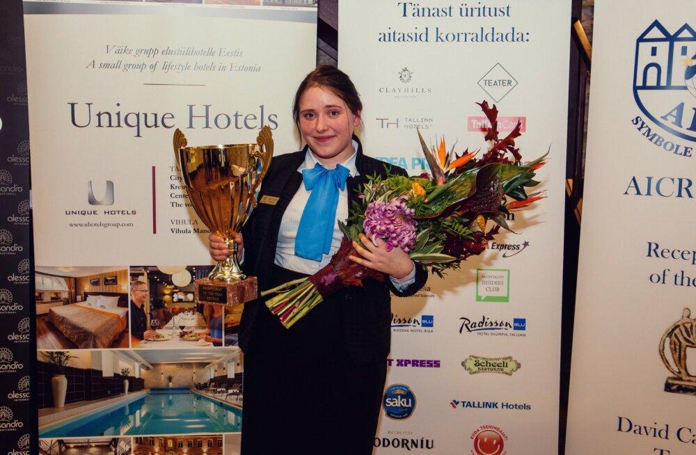 3bed645345e Eesti parima hotelliadministraatori tiitli sai Telegraafi töötaja: esimene  koht toob külmavärinad peale ja olen väga
