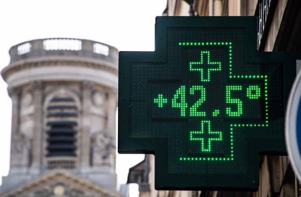 Prantsusmaal suri suviste kuumalainete tõttu 1500 inimest